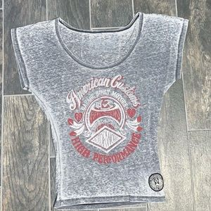 Affliction American Customs Women Graphic T-shirt